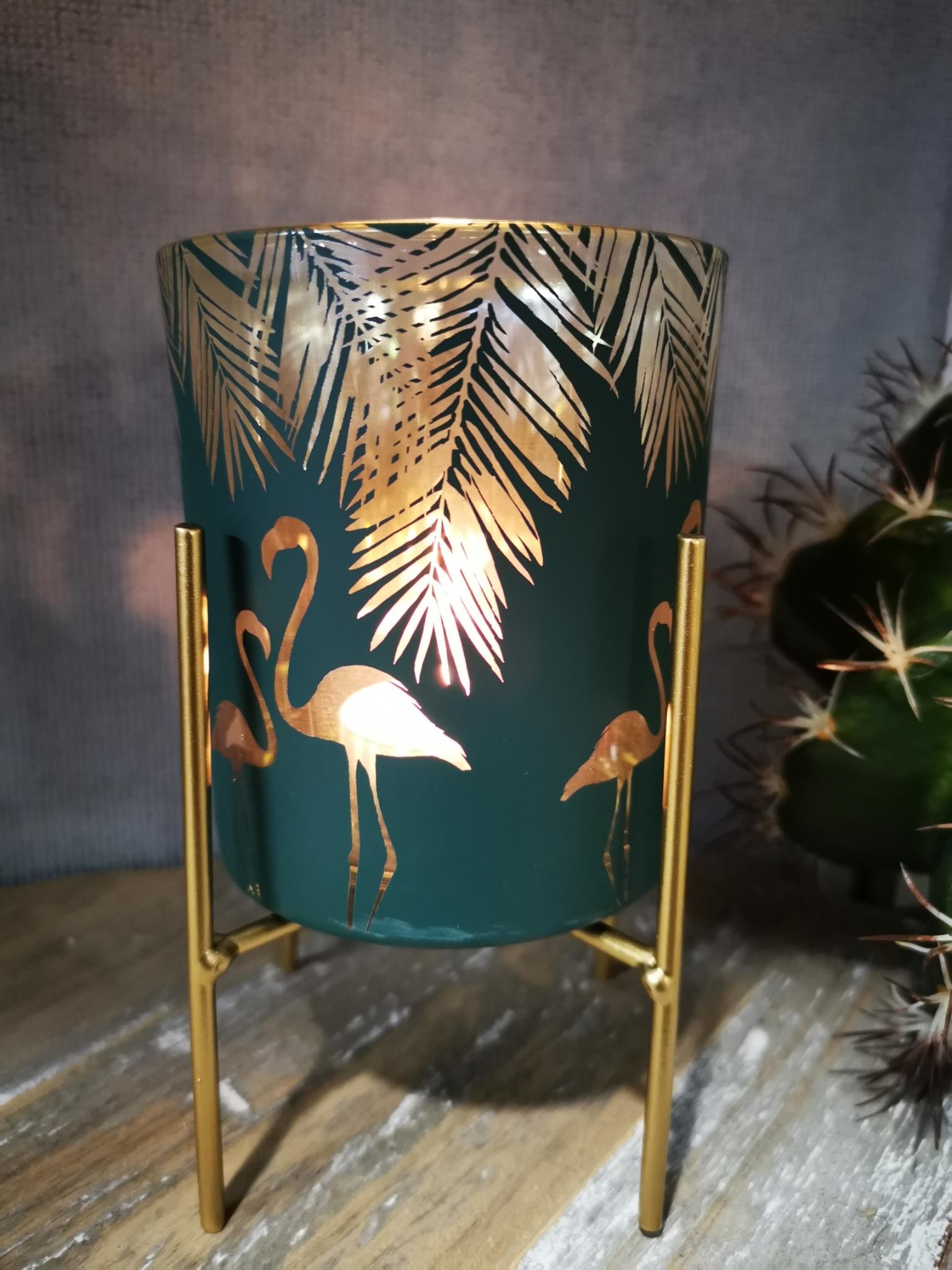 Sfeerlicht met flamingo 01878