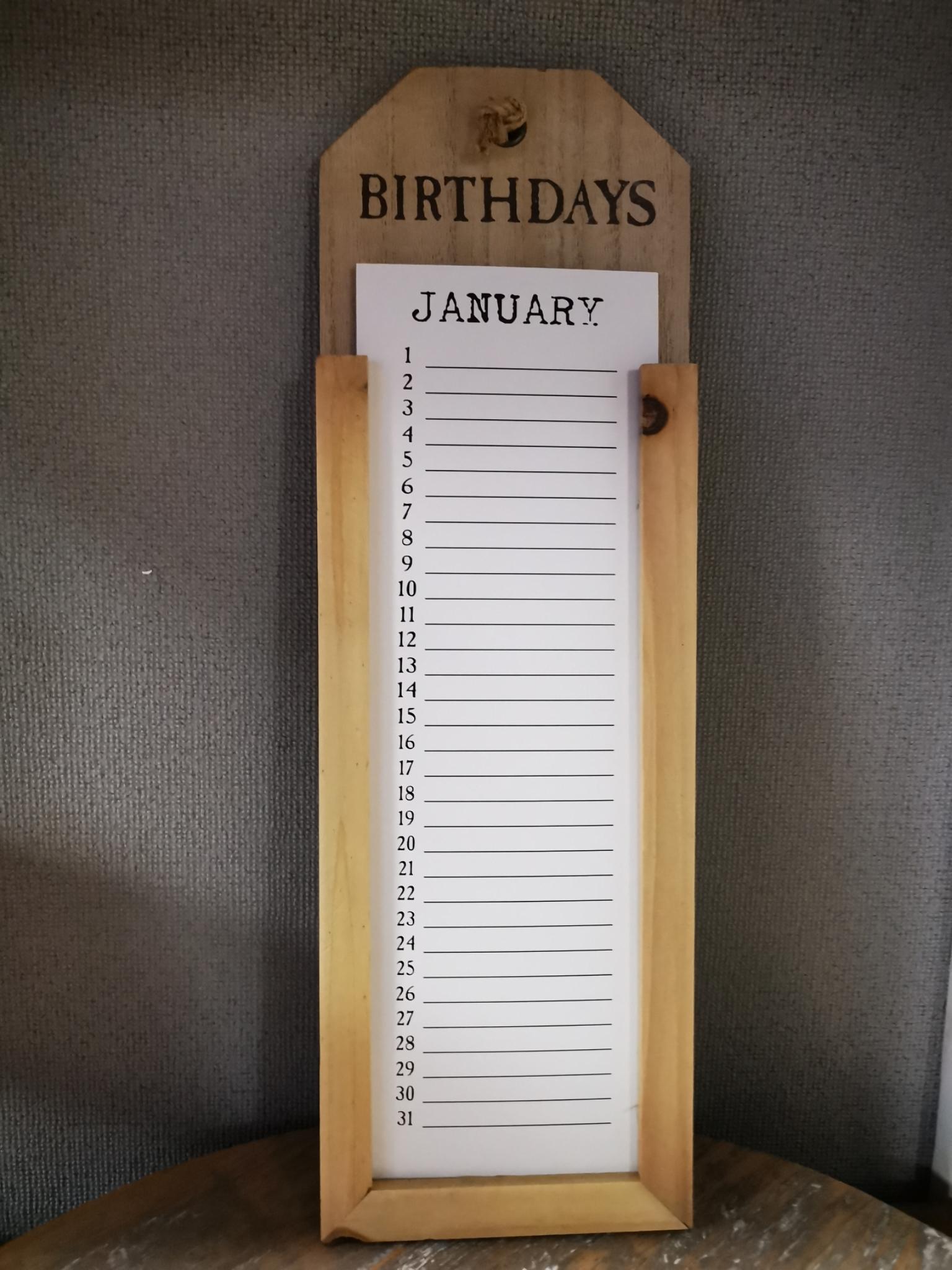 Kalender hout 01880
