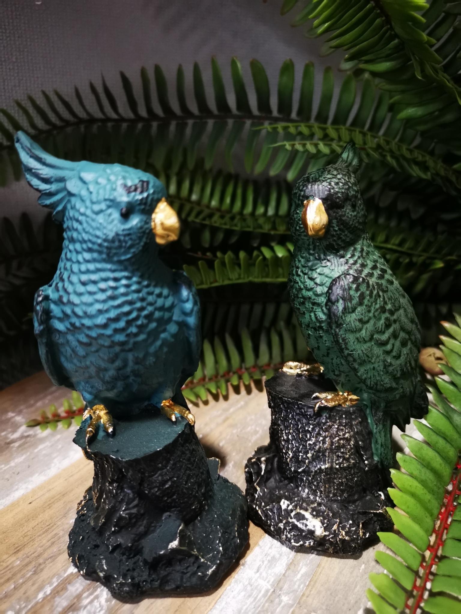 Decoratie papagaai 01885