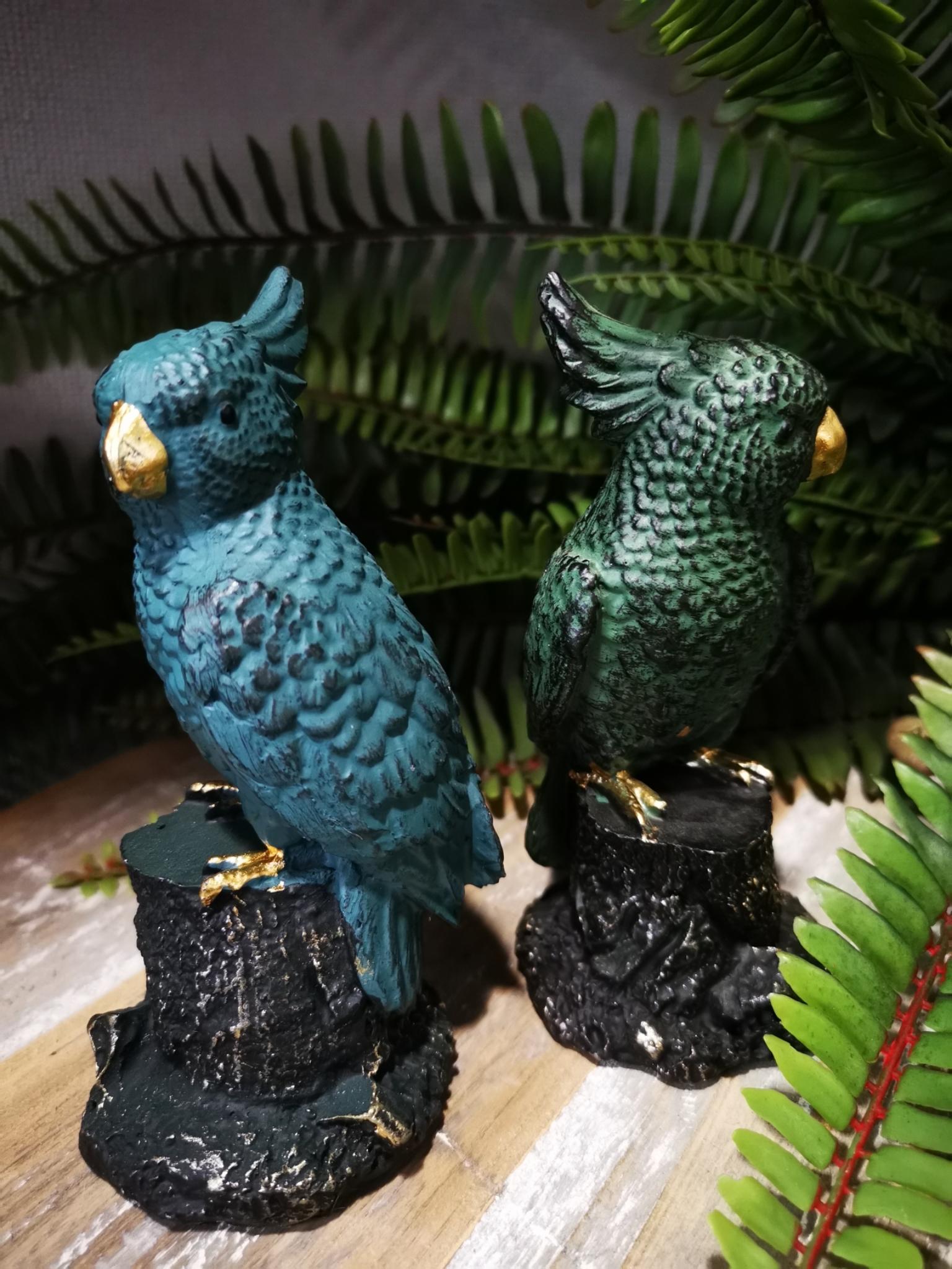 Decoratie papagaai