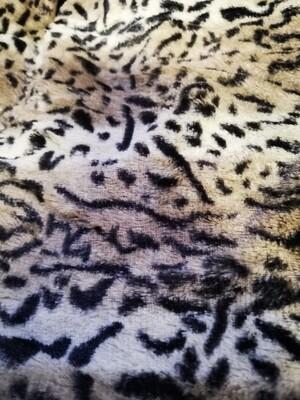 Plaid luipaard 160x130