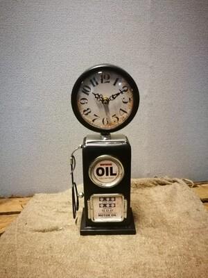 Benzinepomp klok