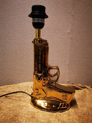 Tafellamp pistool