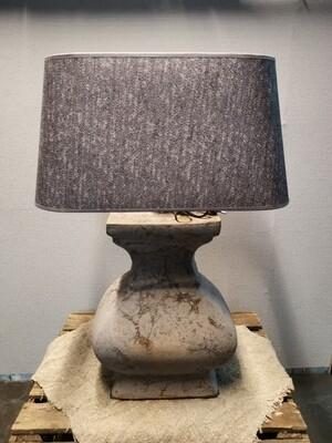 Balusterlamp incl kap