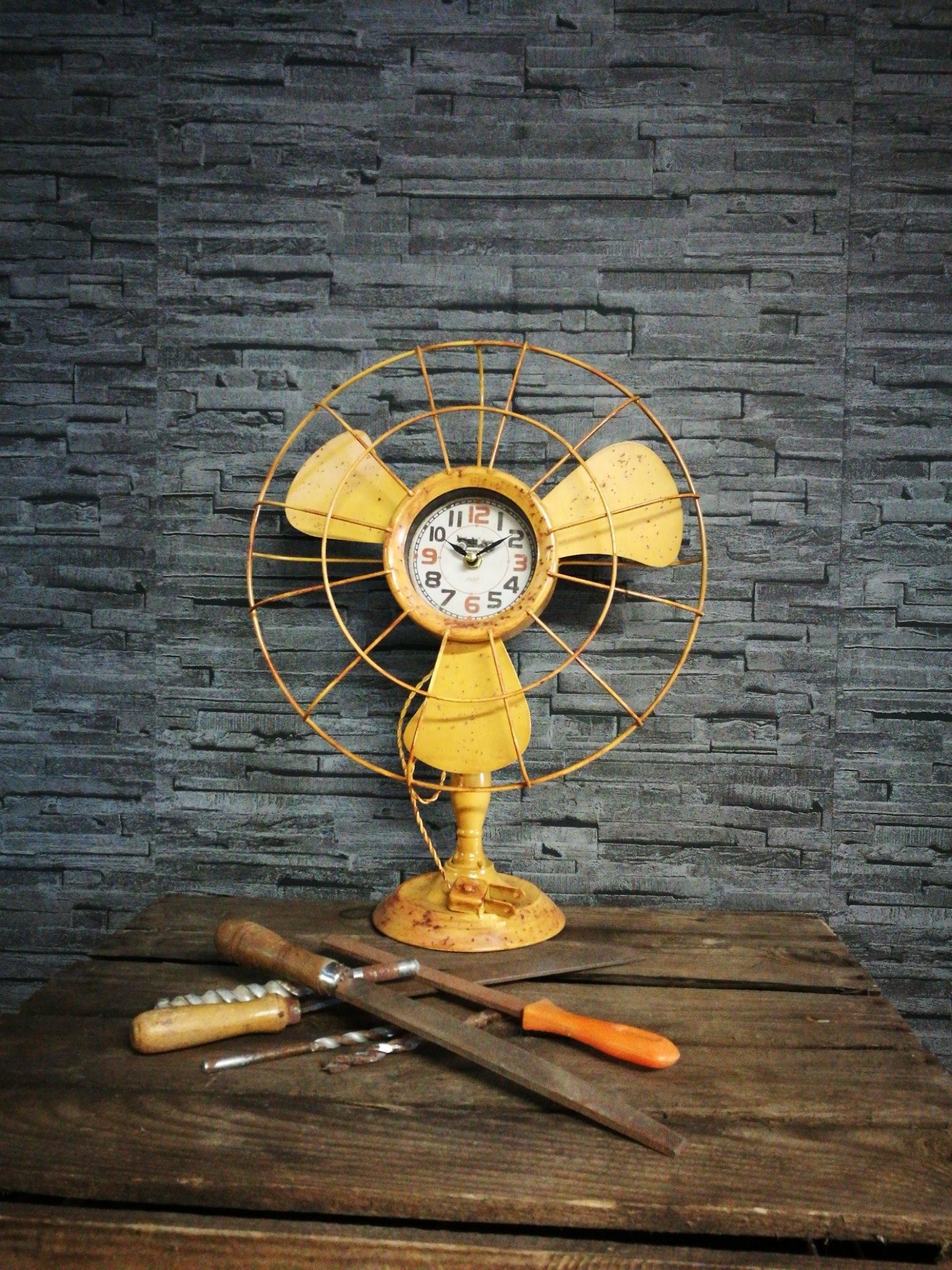 Tafelklok Ventilator 00028