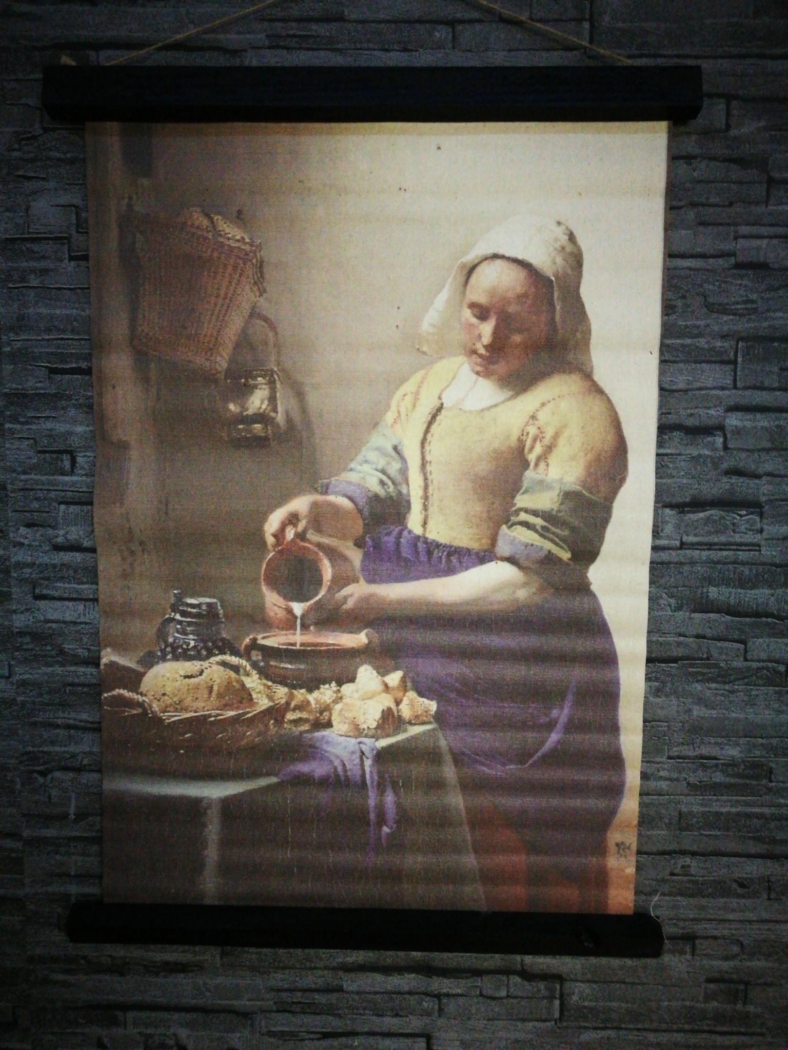Wandkaart Melkmeisje 00052