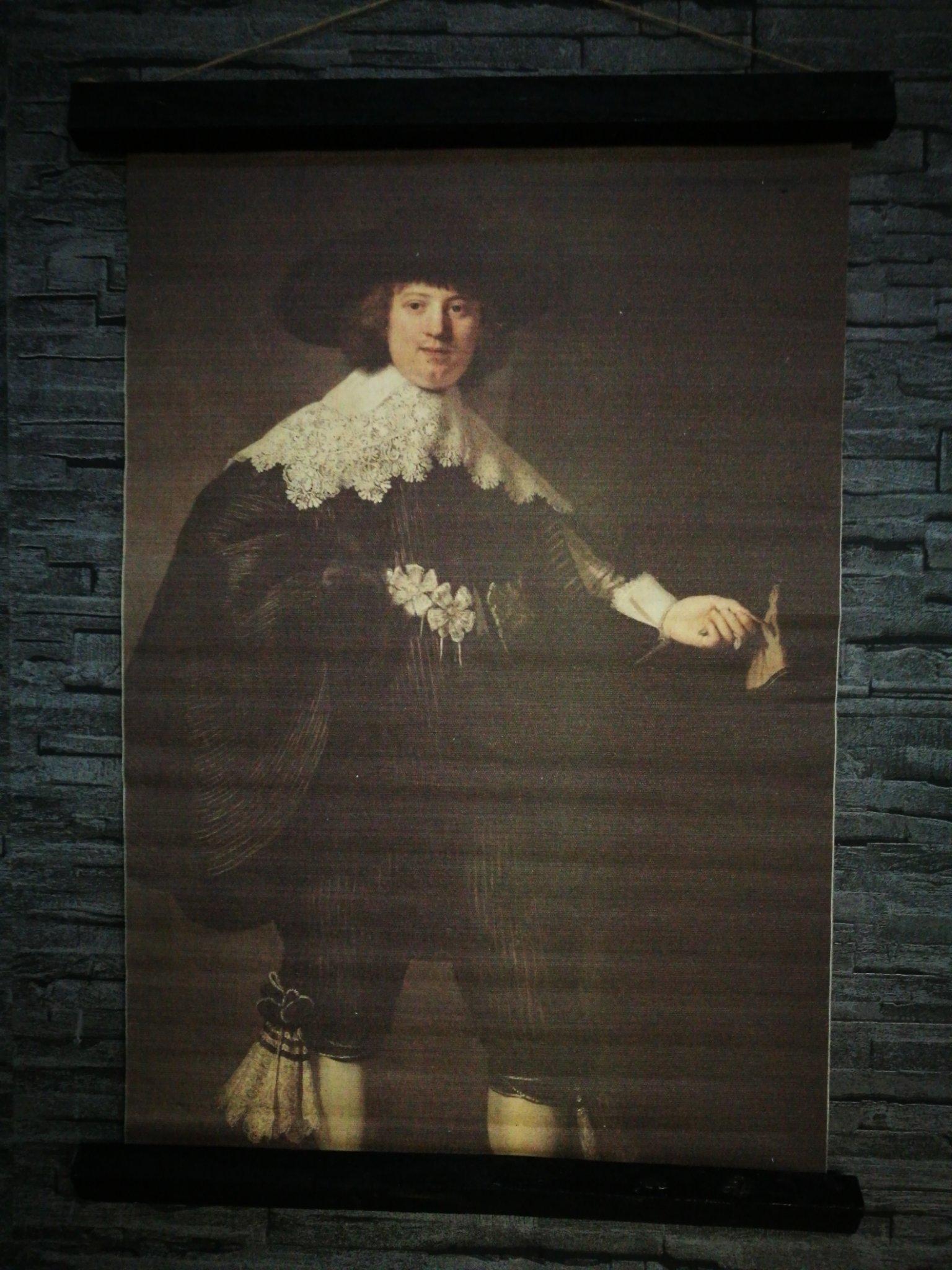 Wandkaart Rembrandt 00054