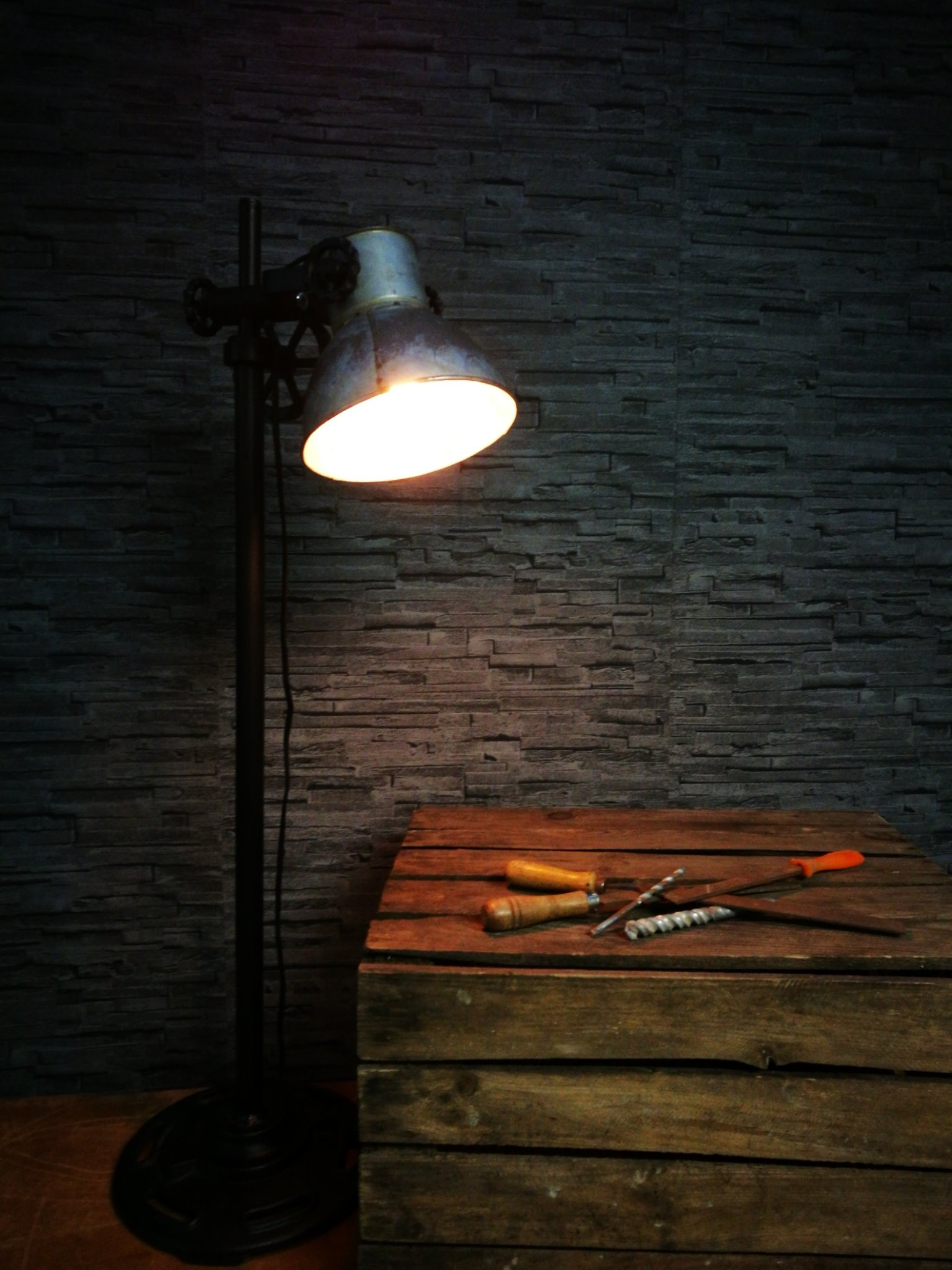 Tafellamp industrie Rolf 00078