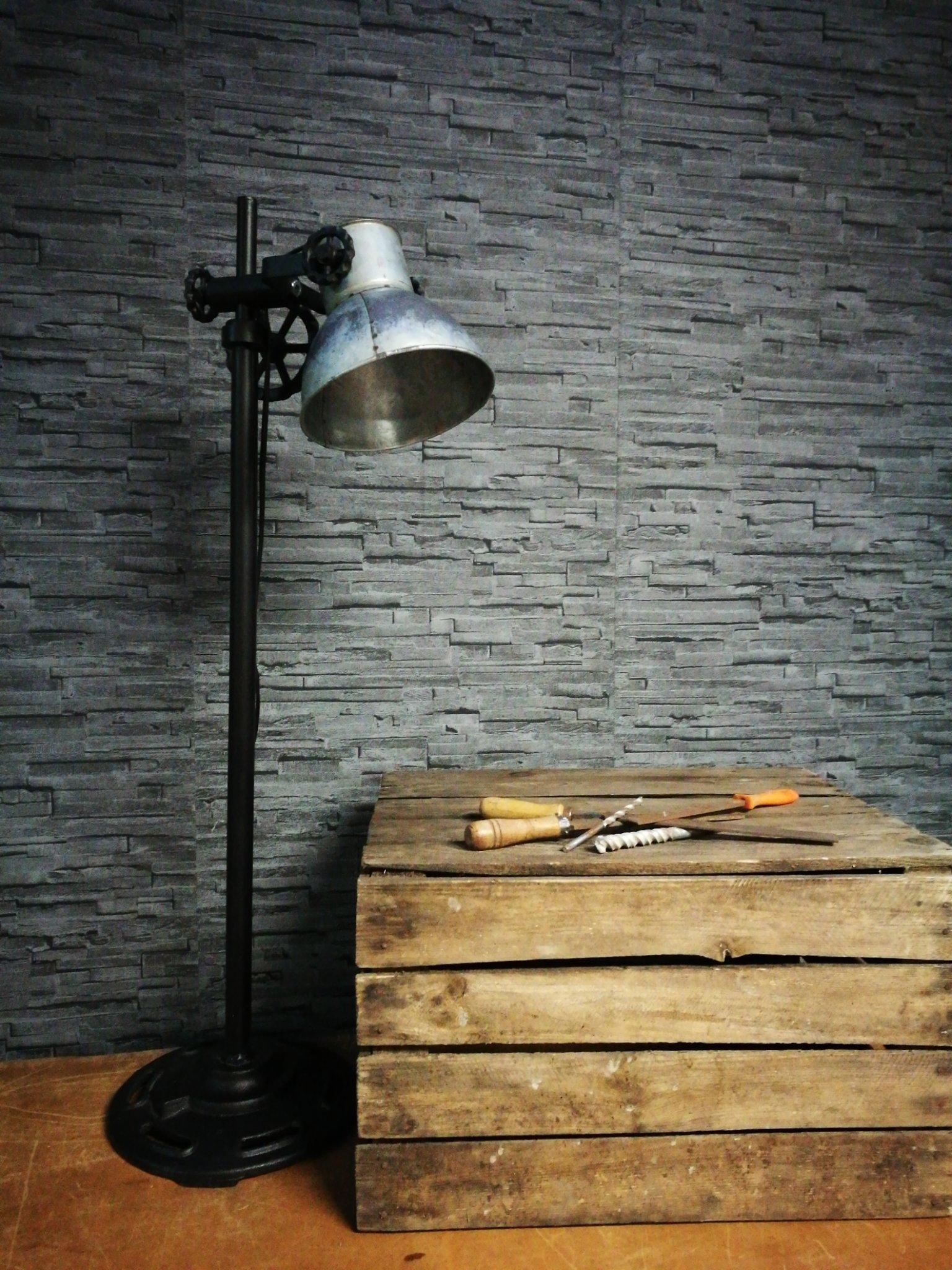Tafellamp industrie Rolf