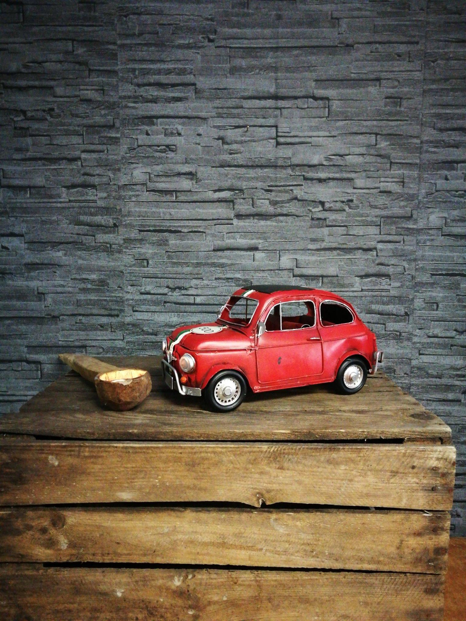 Metalen Fiat 500 00114