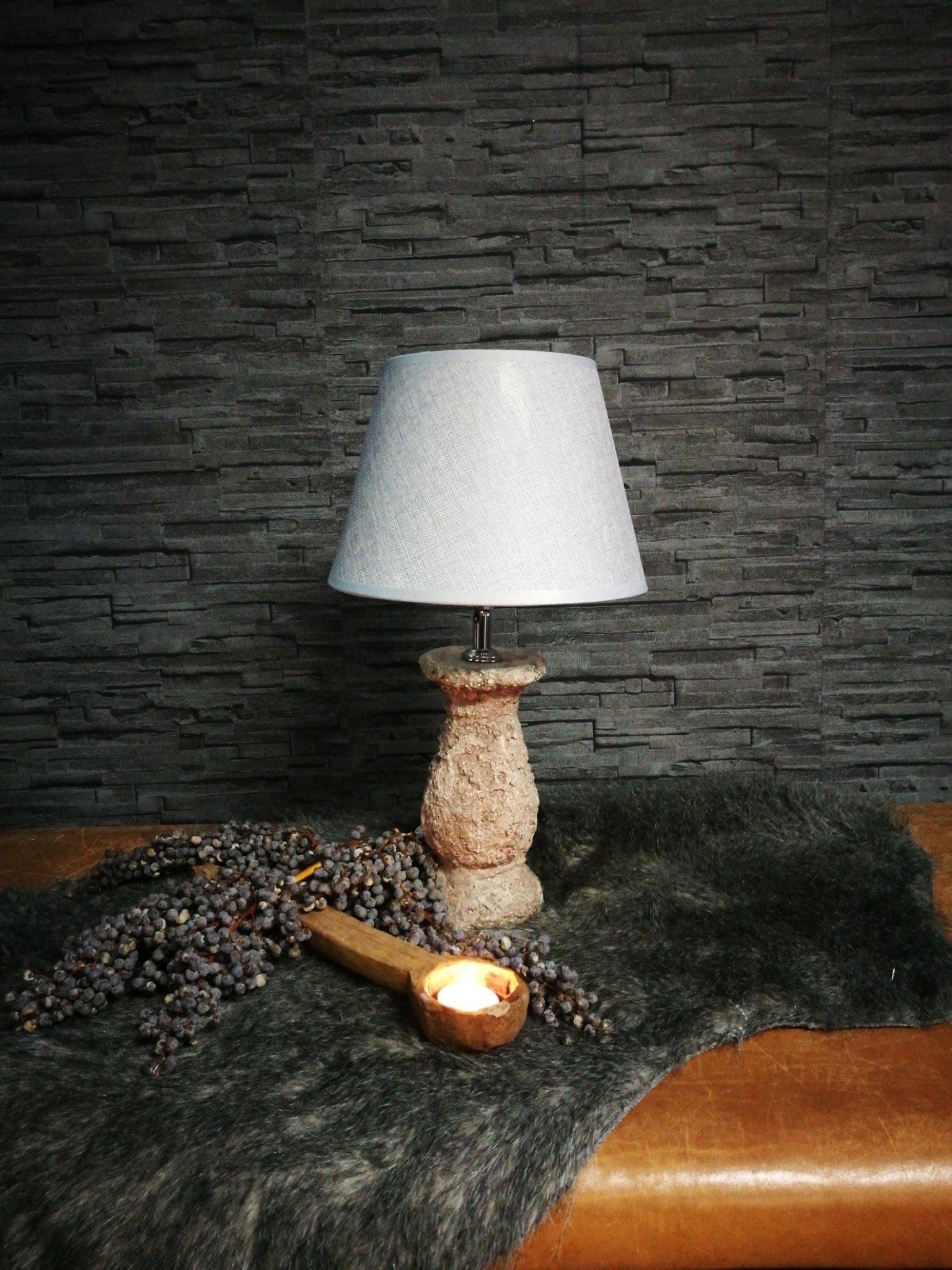 Lava tafellamp incl kap 00132