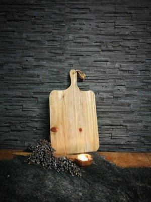 Houten broodplank, recht model