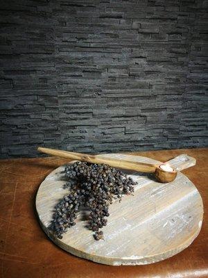 Houten broodplank, rond model