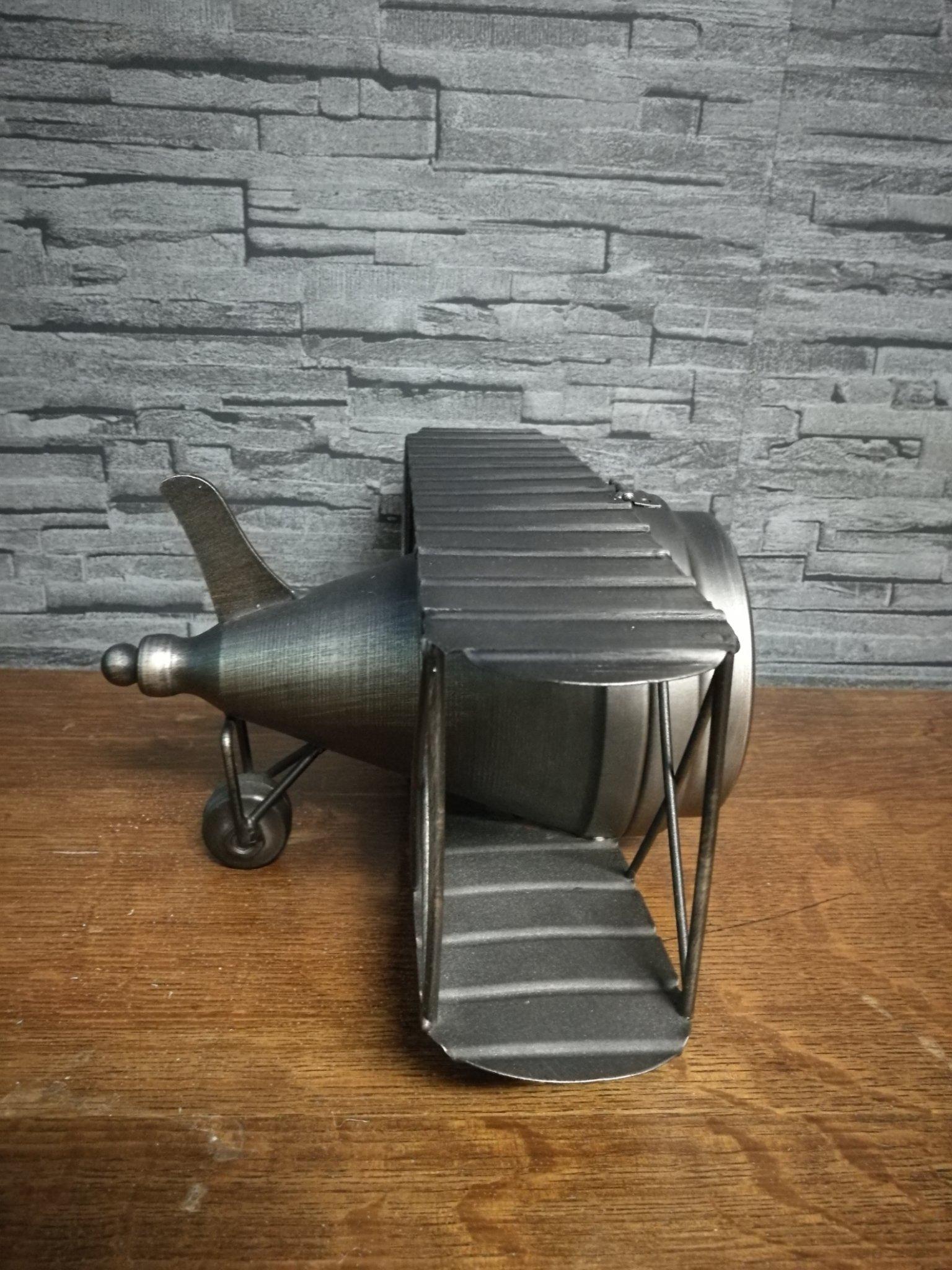Tafelklok vliegtuig