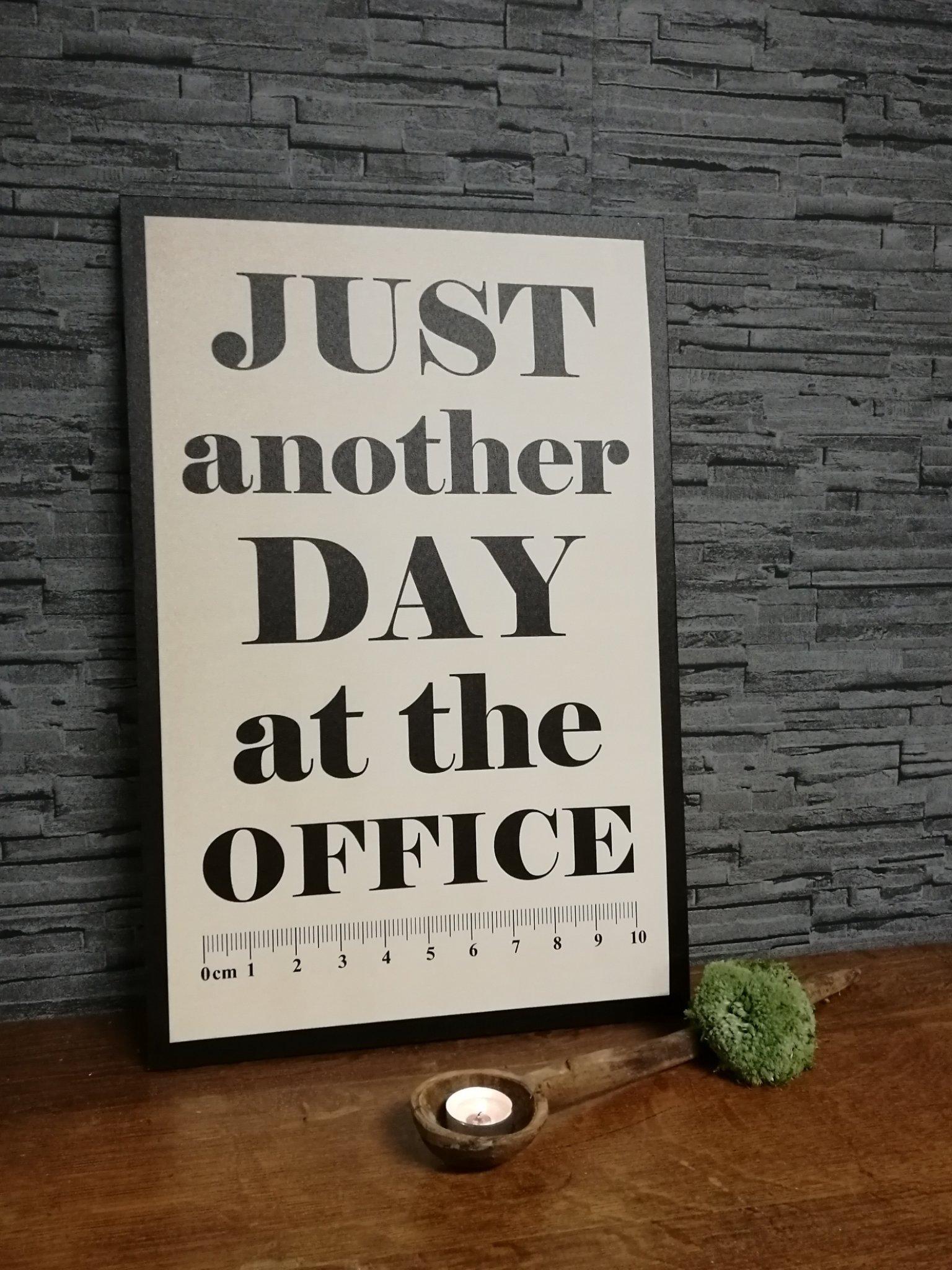 """Tekstbord """"office""""  00644"""