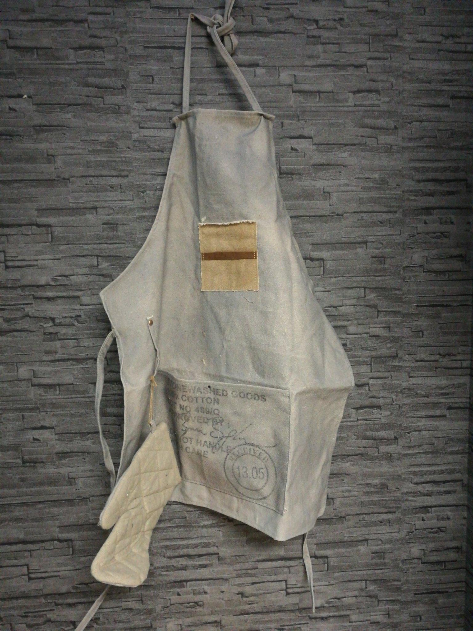 Stoer BBQ short met ovenwant 00651