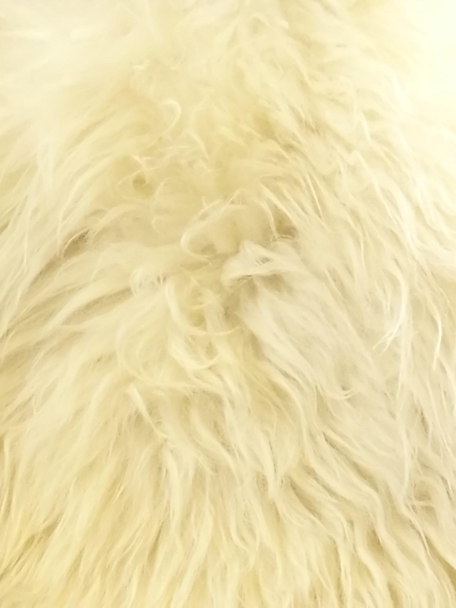Schapenvacht groot wit