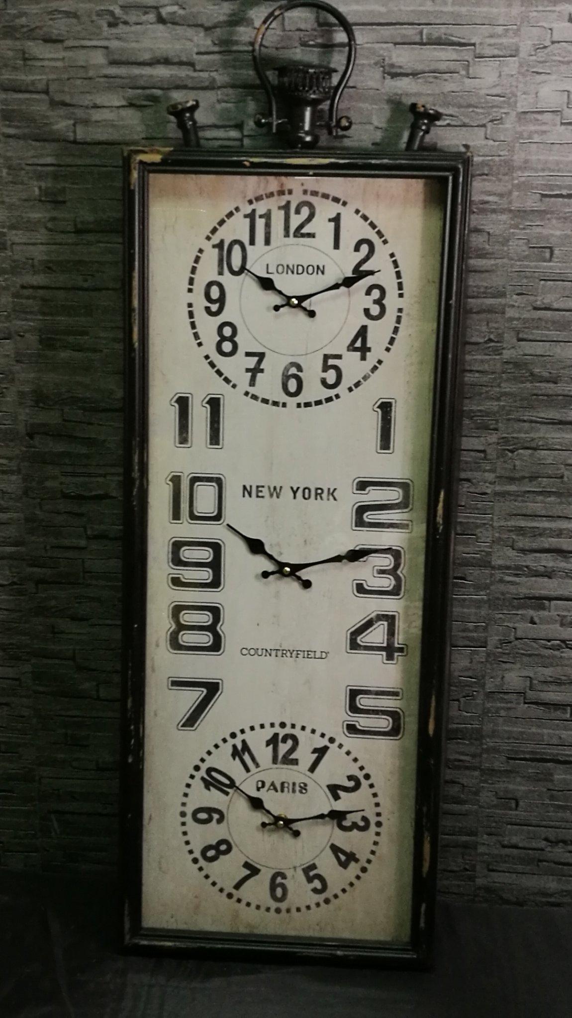 Wandklok Bij de Tijd 00878