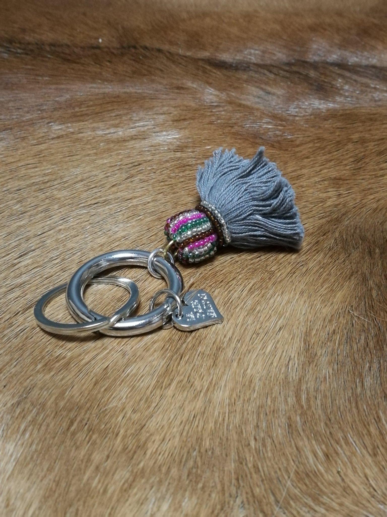 Tashanger flossy grijs 00985