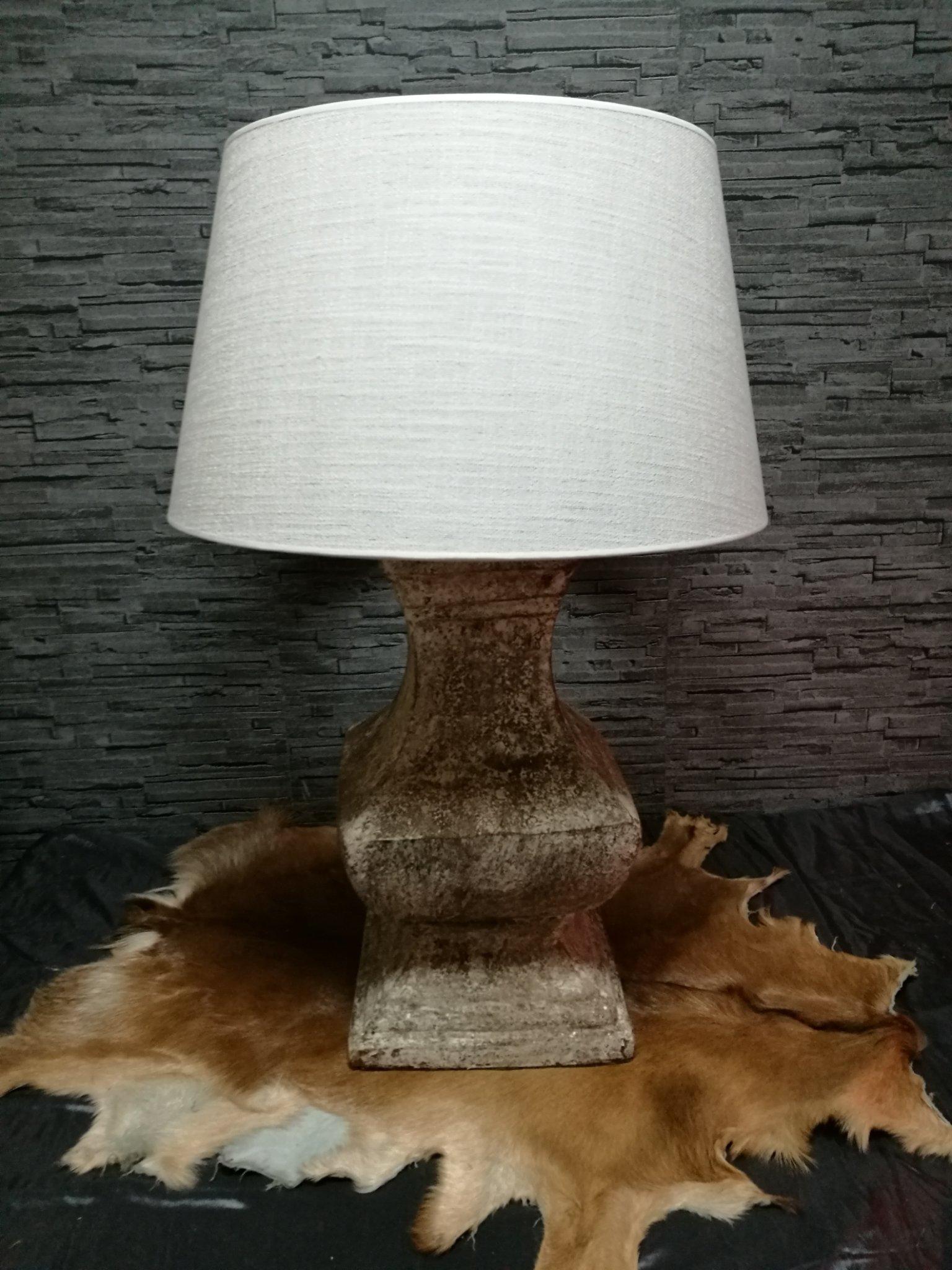 Forse baluster lamp incl kap 01019