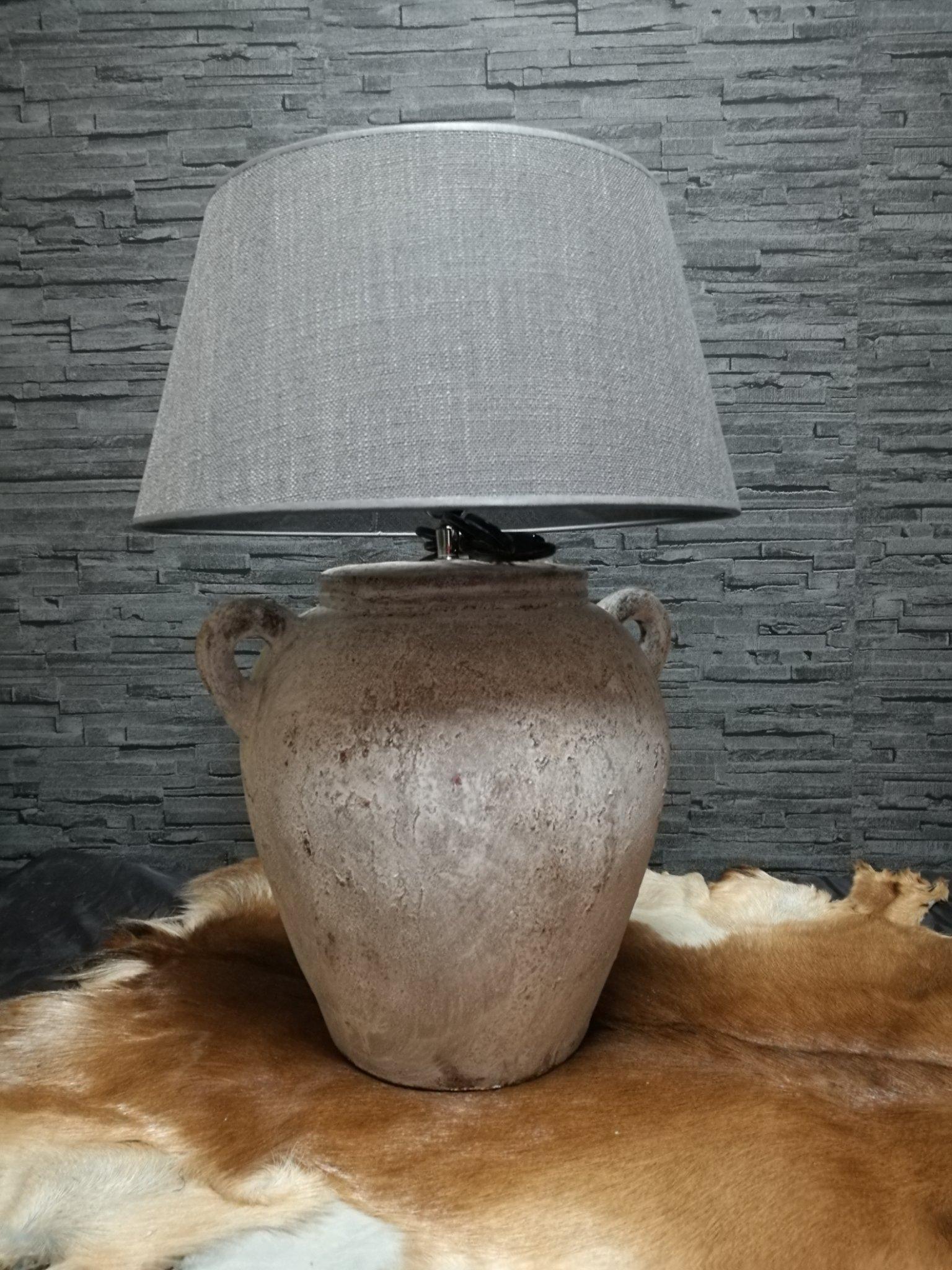 Tafellamp 2 oren creme 01047