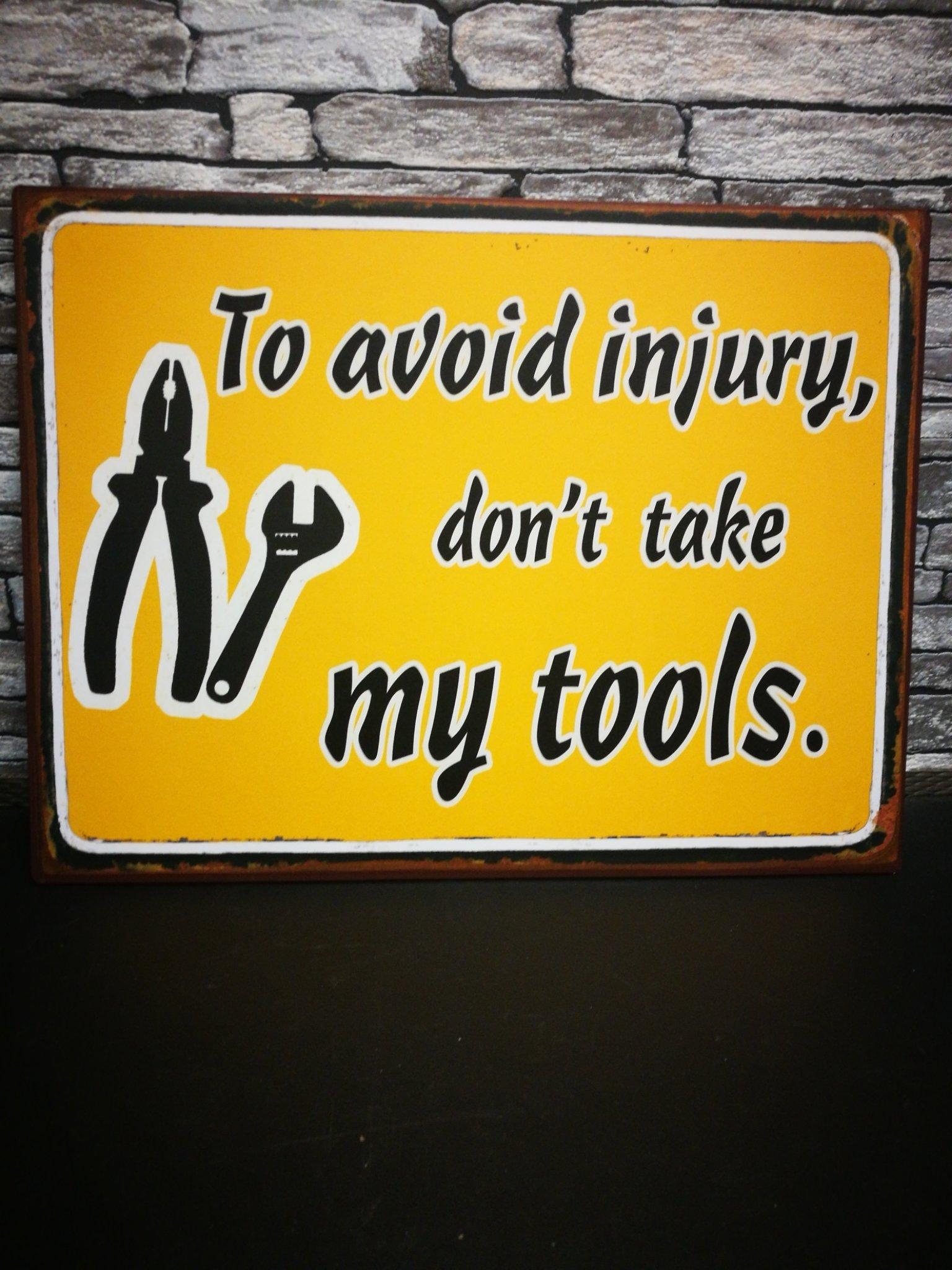Metalen testbord Tools 01119