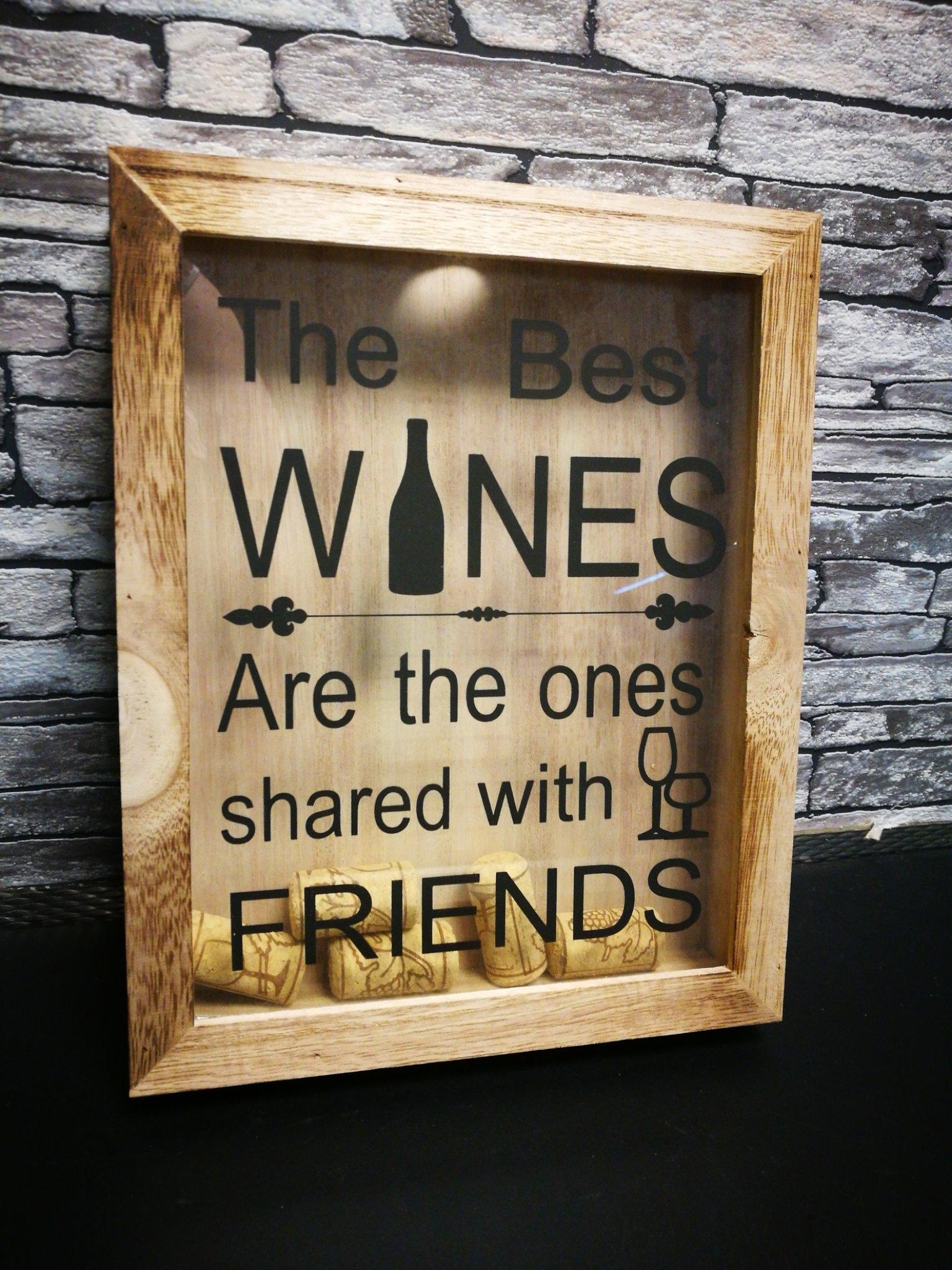 Wijnkurken kastje Friends 01125