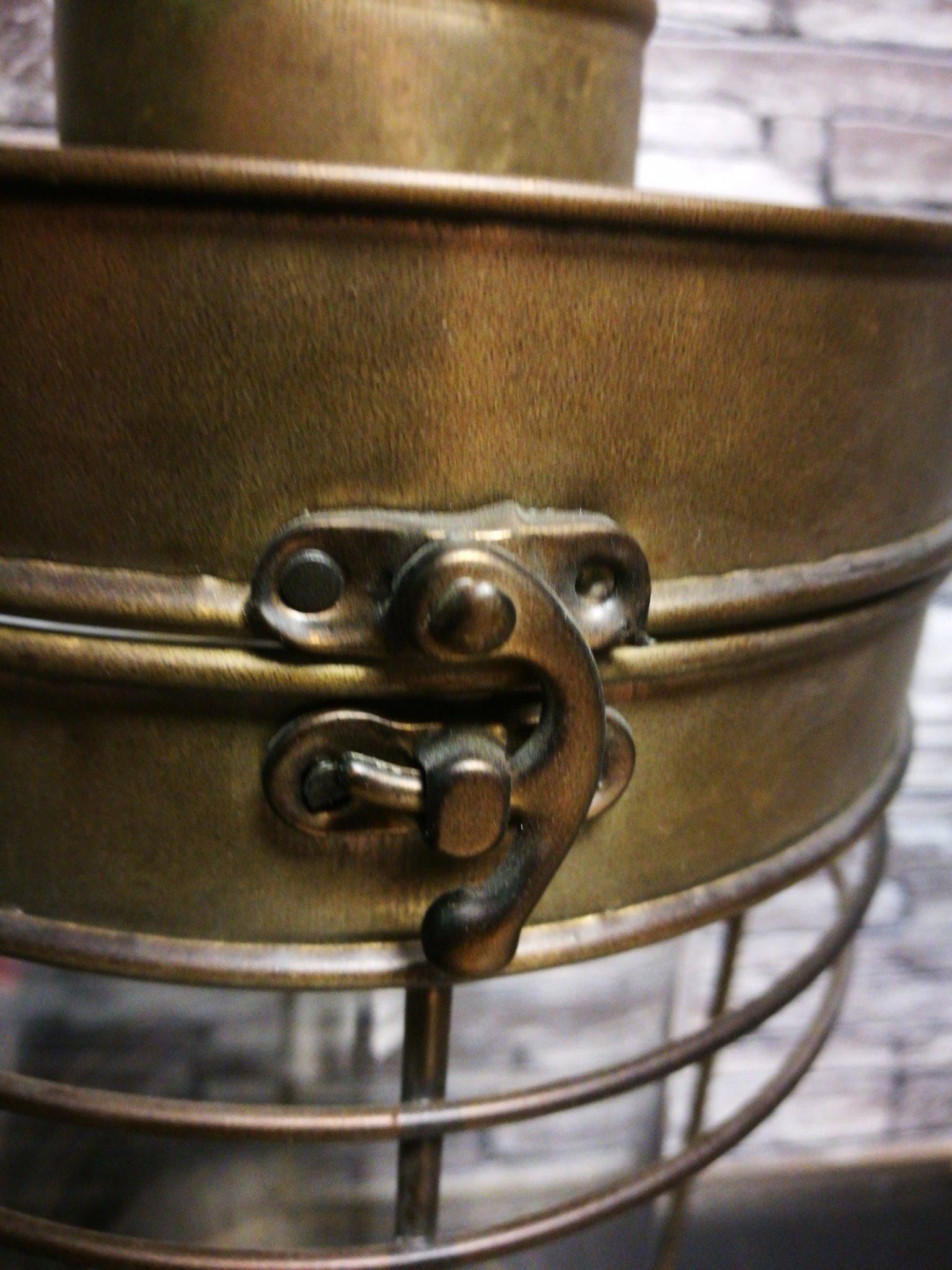 Lantaarn antiek zink