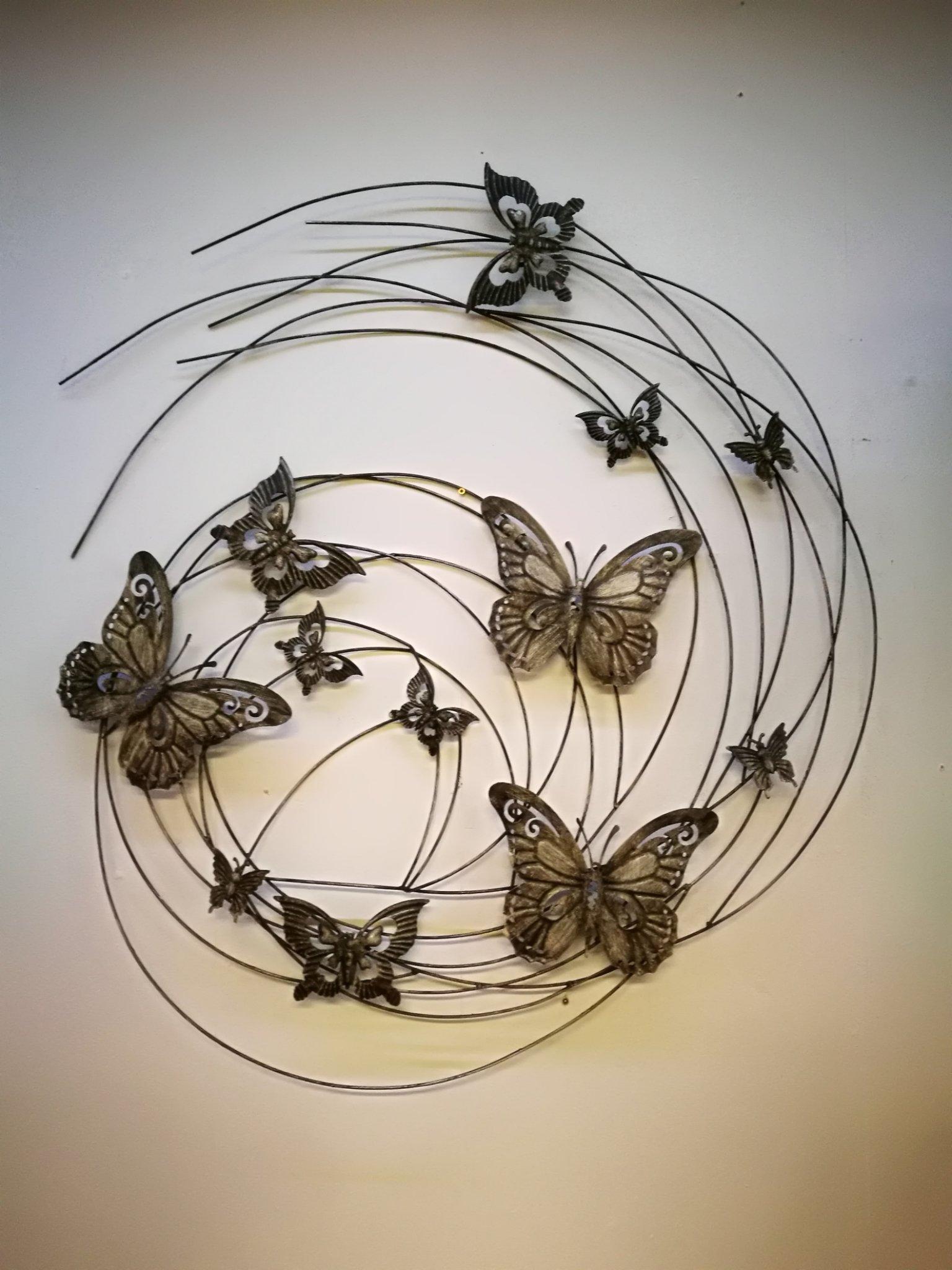 Wand object vlinder 01147