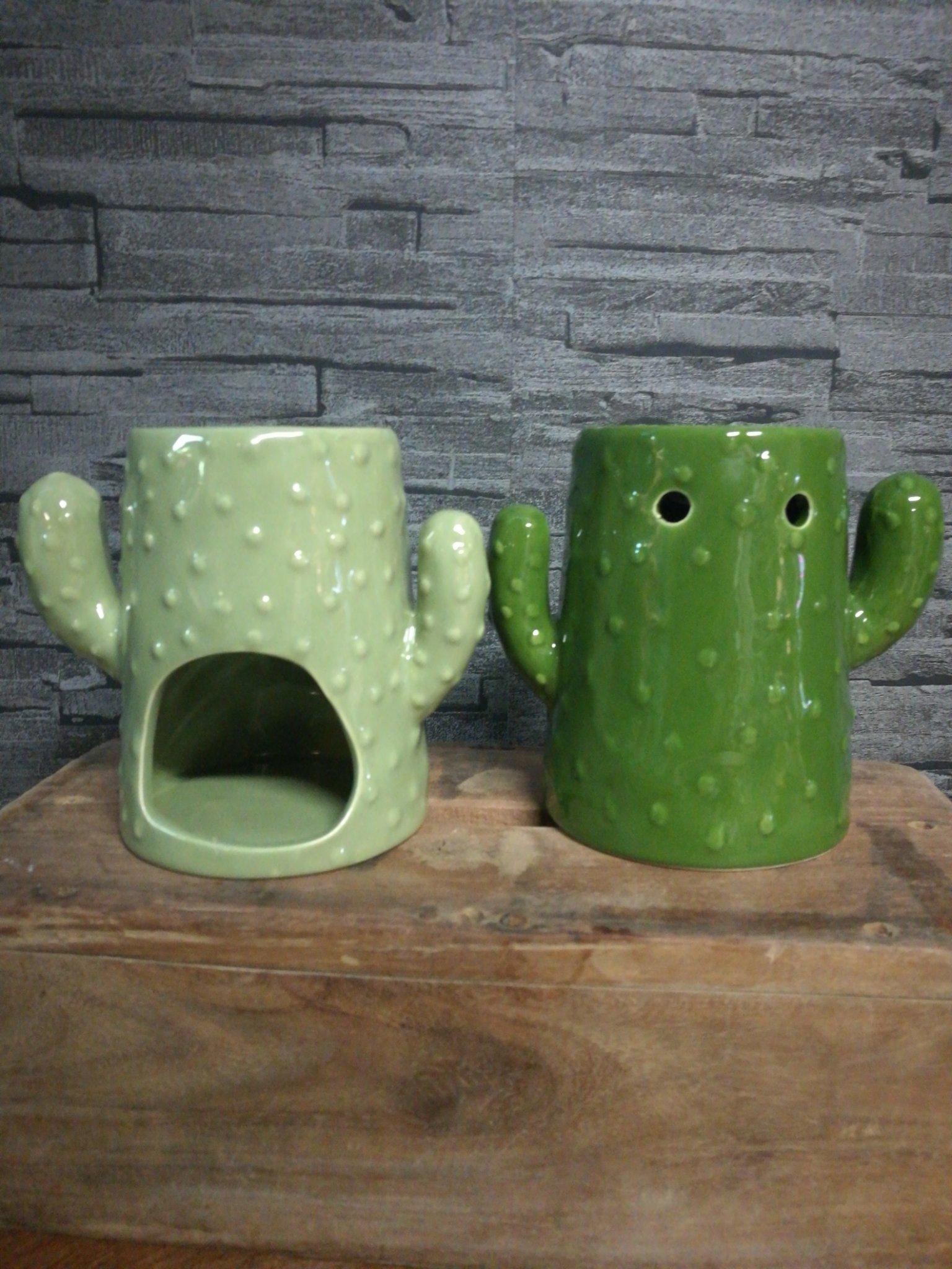 Geurbrander cactus donker groen 01241