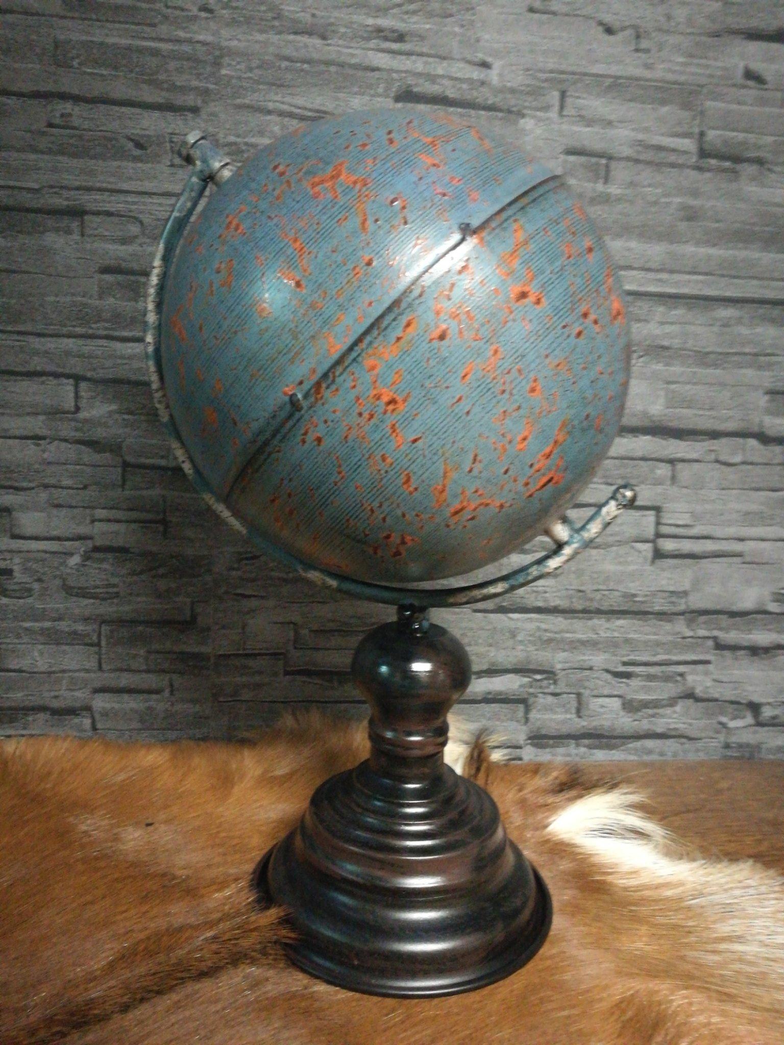 Metalen Globe maat L 01255