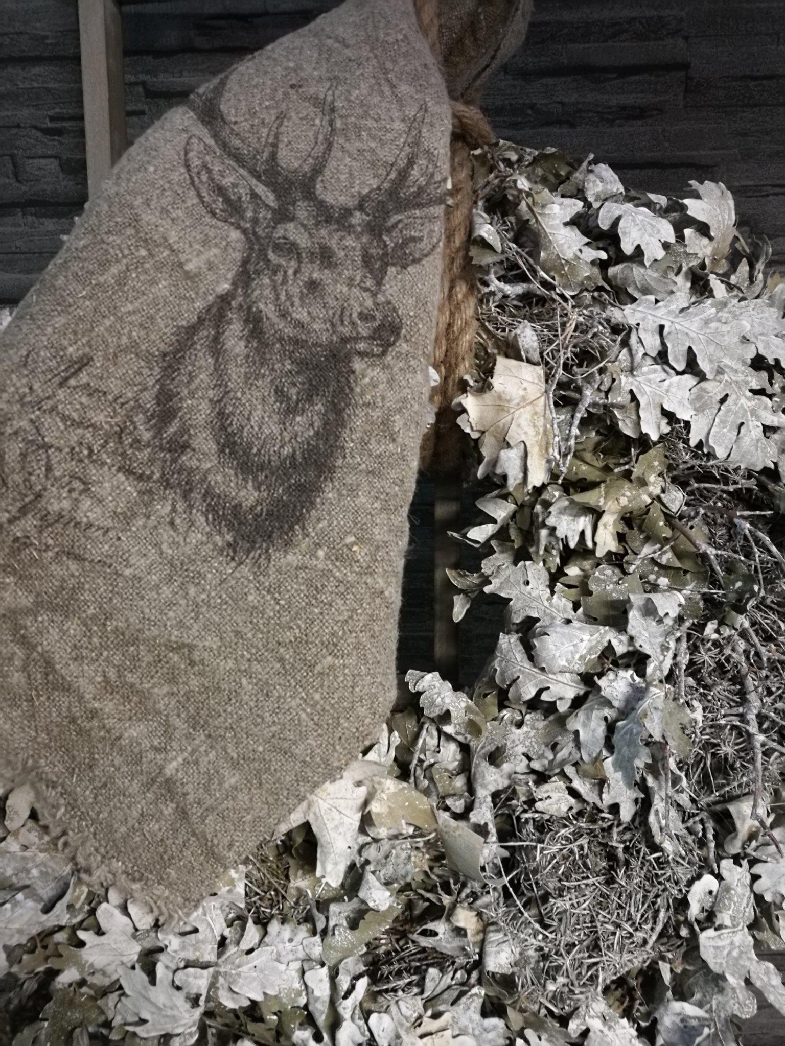 Shabby doek eekhoorn 45x45