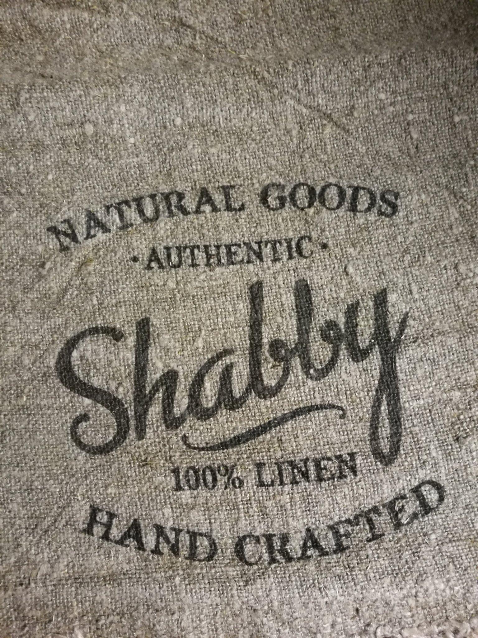 """Shabby doek """"shabby""""  45x45 01422"""