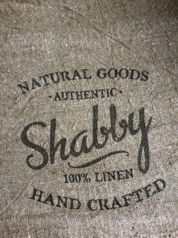"""Shabby doek """"shabby""""  30x45"""