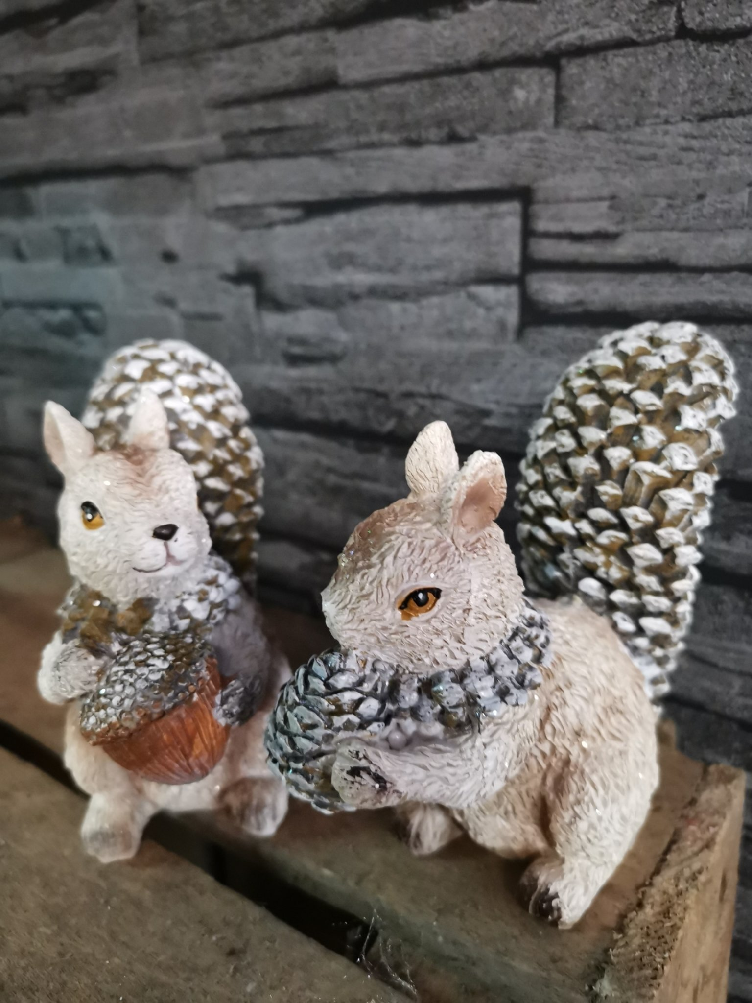 Eekhoorn zittend