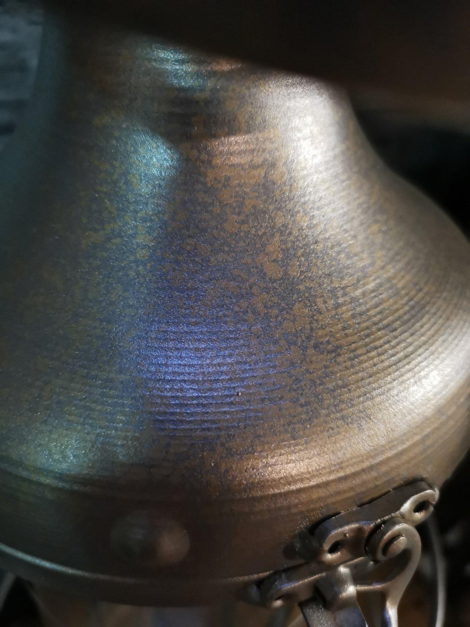 Lantaarn zilver /messing