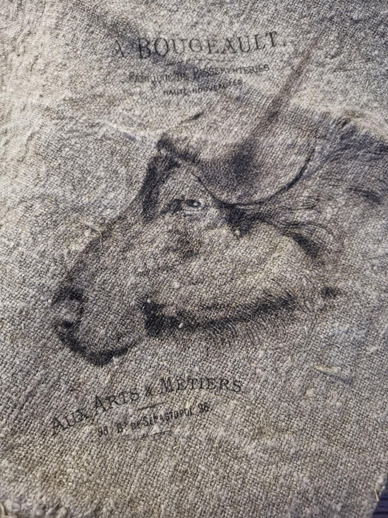 Shabby doek buffel 45x45 01673