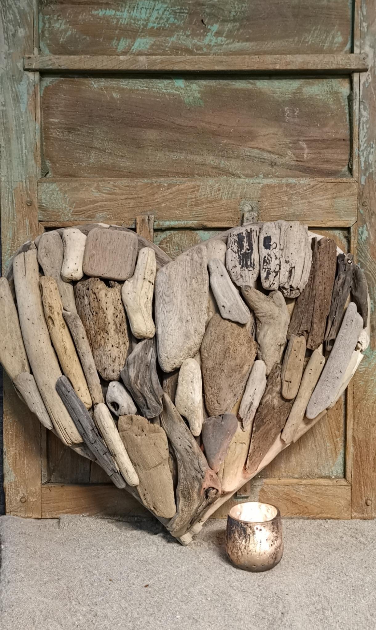 Driftwood hart enkel 01742