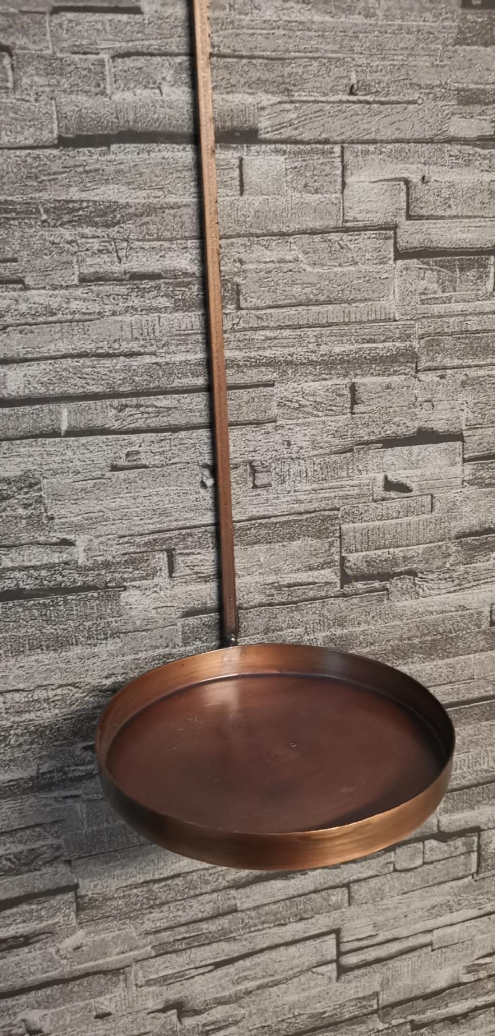 Metalen Wand kaarsenstandaard