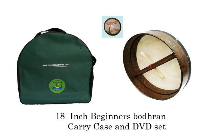 18-inch Beginner's Bodhran Set