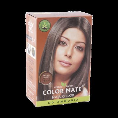 Краска для волос Color Mate Hair Color (тон 9.2, натуральный коричневый)