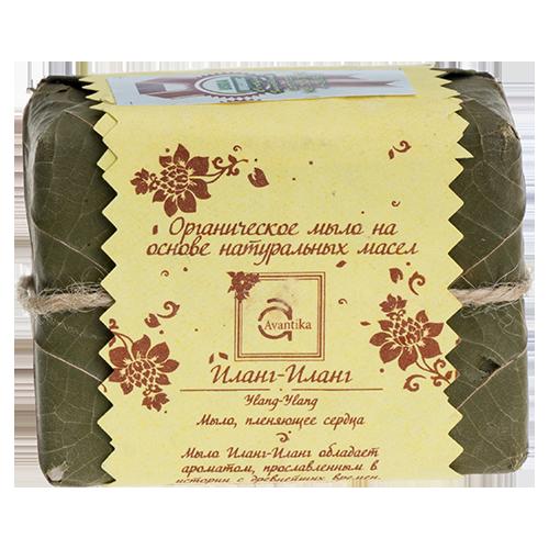 Органическое мыло на основе натуральных масел Иланг-Иланг Avantika Ylang-Ylang