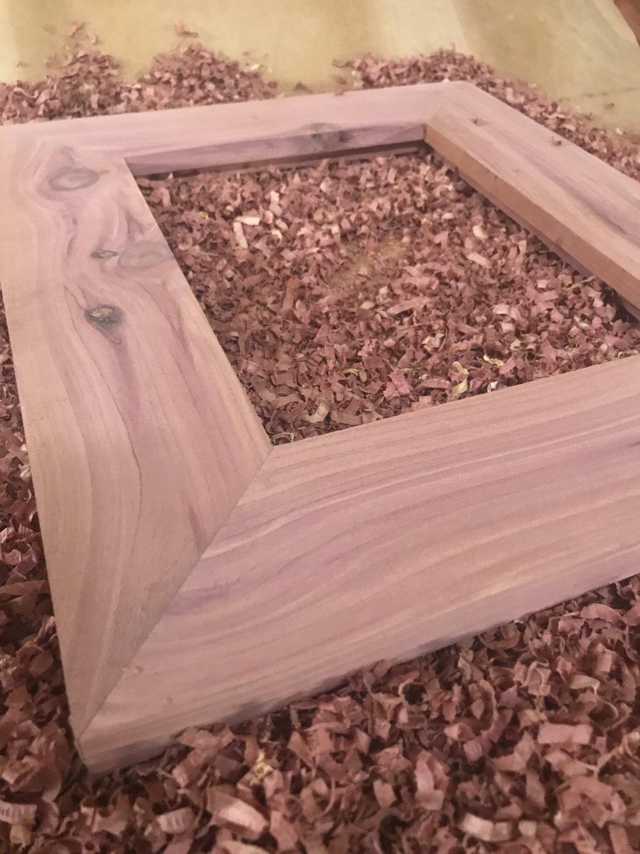 Cedar Frame 8x10