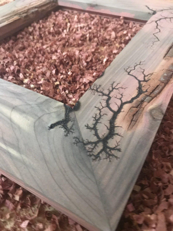 Lichtenberg Fracture Cedar 8x10