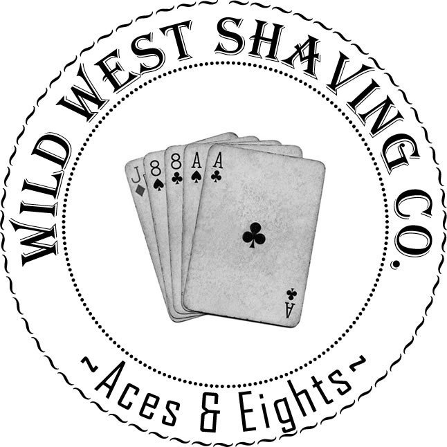 Aces & Eights Shaving Soap - Bourbon, Vanilla, Lavender.