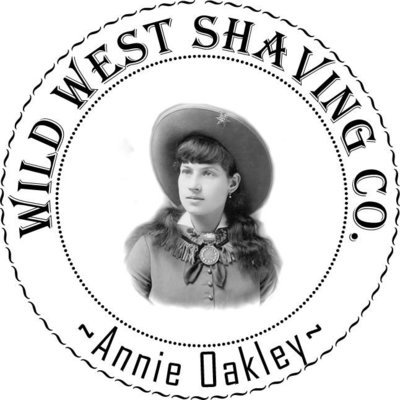 Annie Oakley Shaving Soap - Oak Leaves, Acorns, Rustic Pine, Violets.