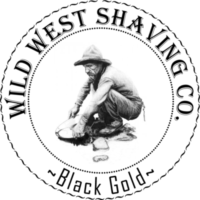 Black Gold Shaving Soap - Black Cardamom, Black Pepper, Eucalyptus, Cashmere, Amber, Patchouli, Sandalwood, Bergamot, Green Apple, Geranium.