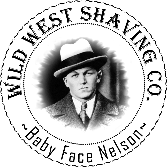 Baby Face Nelson Shaving Soap - Baby Powder & Patchouli.
