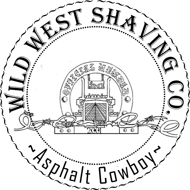 Asphalt Cowboy Shaving Soap - Sage, Fir, Pine, Juniper, Patchouli, Oak Moss, Spanish Moss, Fern, Tobacco, Smoke, Sea Salt, Menthol.
