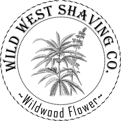 Wildwood Flower Shaving Soap - Cannabis Flower
